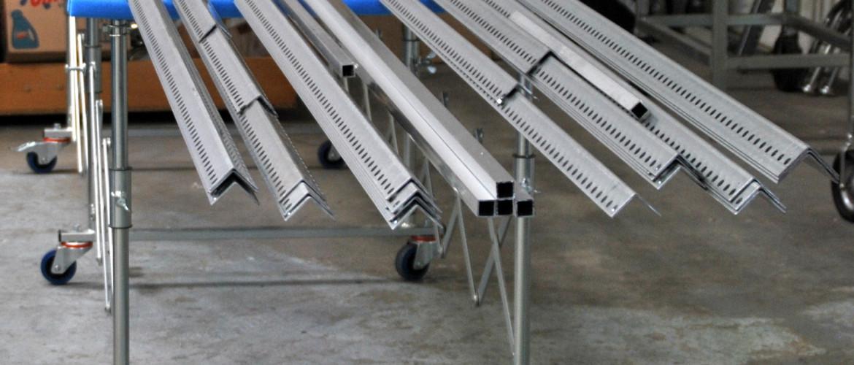 Scherenbock Drilling leicht Anwendungsfoto